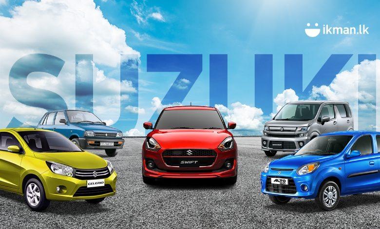 top suzuki models for sale in sri lanka